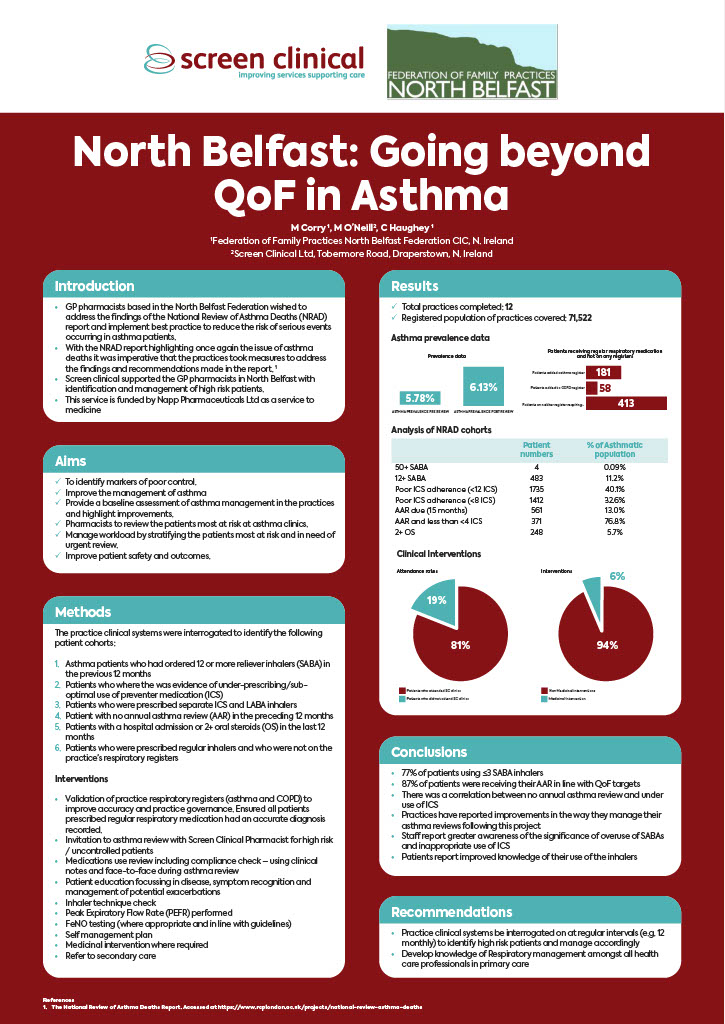 North Belfast: Going beyond QoF in Asthma
